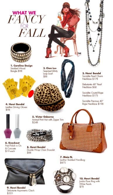 Henri Bendel's Perfect 10 - What We Want for Fall!