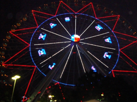 Baby, you're a star!  The Texas Star at The State Fair of Texas.